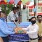 কমলনগরে ভ্রাম্যমান দুধ-ডিম বিক্রি